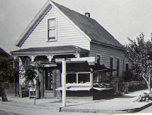Home at SE 21st & Taggart sometime during the 1930s.