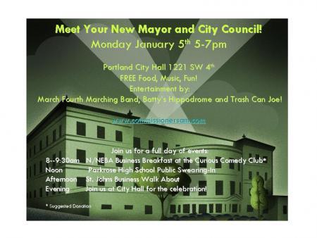 Meet Your New Mayor Invite