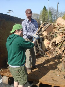 HAND Volunteers at the 2008 Cleanup